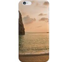 Sunset at Durdle Door iPhone Case/Skin