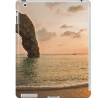 Sunset at Durdle Door iPad Case/Skin