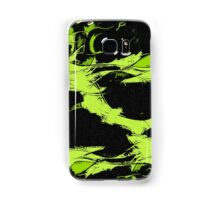 Lemon paint on black Samsung Galaxy Case/Skin