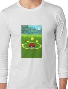 Pokemon Go Poke Ball Stars- Night time Capture Long Sleeve T-Shirt