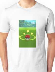 Pokemon Go Poke Ball Stars- Night time Capture Unisex T-Shirt