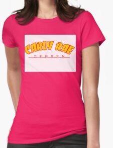 Carly Rae Thrasher Womens Fitted T-Shirt