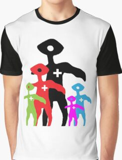 Squinty Family Graphic T-Shirt