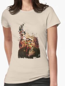 Comfortably Numb Womens Fitted T-Shirt