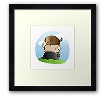 Lots of Lovable Labs Framed Print
