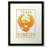 Team Rebirth - White Framed Print