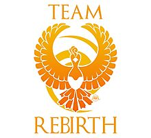 Team Rebirth - White Photographic Print