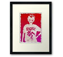 Destroy Viv Framed Print