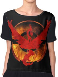 -Team Valor- Chiffon Top