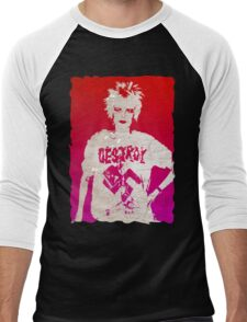 Destroy Viv Men's Baseball ¾ T-Shirt