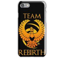 Team Rebirth - Black iPhone Case/Skin