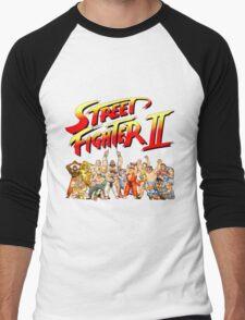 Street Fighter II Arcade Group Shot Tee  Men's Baseball ¾ T-Shirt