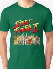 Street Fighter II Arcade Group Shot Tee  Unisex T-Shirt
