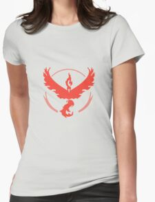 Pokemon Team Valor - Light Womens Fitted T-Shirt