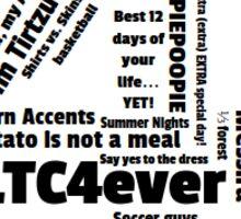 CLTC 4 2016 BBYO sticker Sticker