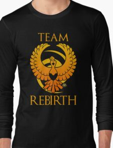 Team Rebirth - Black Long Sleeve T-Shirt