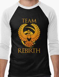 Team Rebirth - Black Men's Baseball ¾ T-Shirt