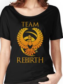Team Rebirth - Black Women's Relaxed Fit T-Shirt