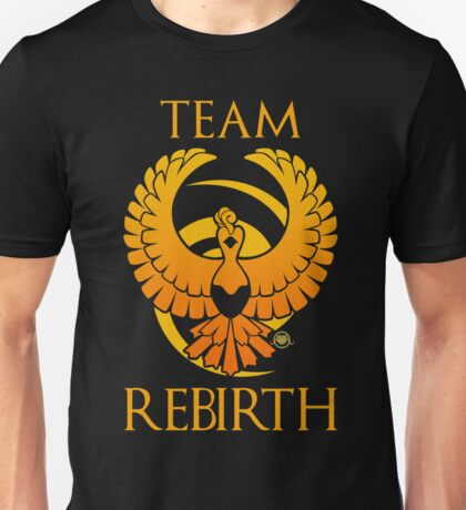 Team Rebirth - Black Unisex T-Shirt