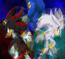 Sonic, Shadow, Silver by TomsTops