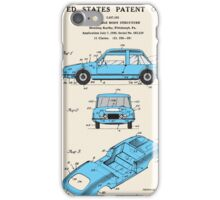 Automobile Body Patent iPhone Case/Skin