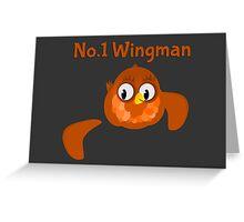 No.1 Wingman | Broken Wing Greeting Card