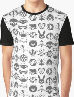 Ultimate Abilities - Gray  Graphic T-Shirt
