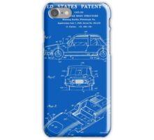 Automobile Body Patent - Blueprint iPhone Case/Skin