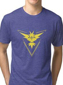 Pokemon Team Instinct - Dark Tri-blend T-Shirt