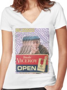 Mac Demarco Viceroy Open  Women's Fitted V-Neck T-Shirt