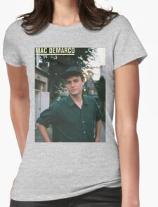 Mac Demarco zine cover Womens Fitted T-Shirt