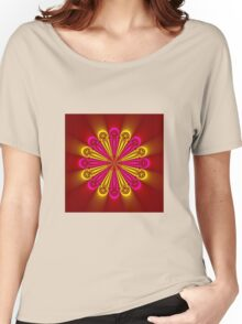 Bright and Beautiful colored flower Women's Relaxed Fit T-Shirt