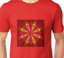 Bright and Beautiful colored flower Unisex T-Shirt