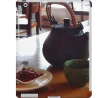 tea time iPad Case/Skin