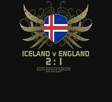 Iceland England 2:1 Euro 2016 T-Shirts & Merchandise V1-black Unisex T-Shirt