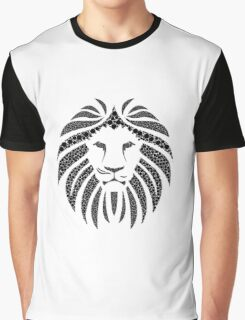 African Lion illustration  Graphic T-Shirt