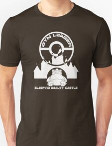Poke-GO: Sleeping Beauty's Castle Gym Leader Unisex T-Shirt