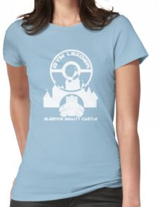 Poke-GO: Sleeping Beauty's Castle Gym Leader Womens Fitted T-Shirt