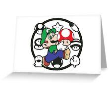 Luigi Greeting Card