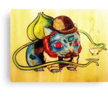 Bulbasaur in a Bowler Canvas Print