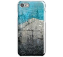 Winter frost fades iPhone Case/Skin