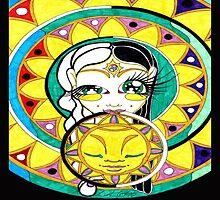 Eclipse Mandala Goddess by GotLux