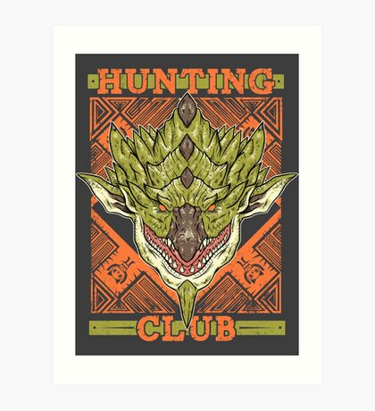 Hunting Club: Rathian Art Print