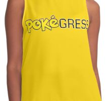 Pokégress Yellow Contrast Tank Top Contrast Tank