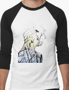 Treeman Men's Baseball ¾ T-Shirt