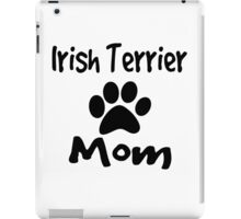 Irish Terrier Mom iPad Case/Skin