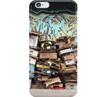 cardboard mosaic iPhone Case/Skin