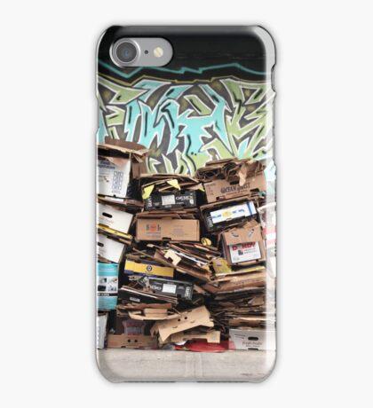 cardboard mosaic iPhone Case/Skin