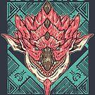 Hunting Club: Pink Rathian  by MeleeNinja