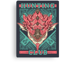 Hunting Club: Pink Rathian  Canvas Print